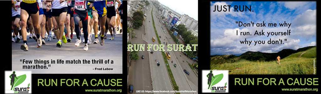 Surat Night Half Marathon 2013